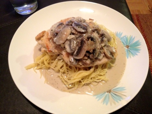 Chicken marsala from LaurenFoodE