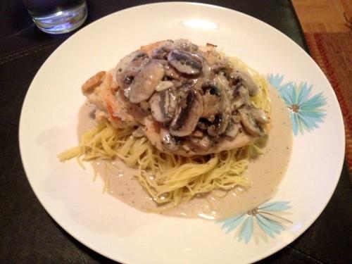 Chicken marsala from LaurenFoodE