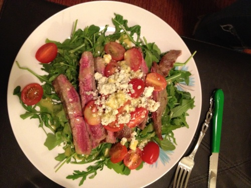 Steak salad by LaurenFoodE