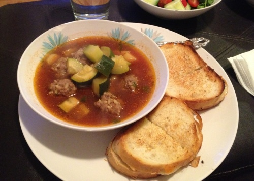 Mexican meatball soup from LaurenFoodE