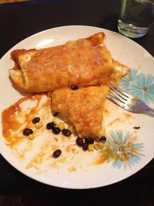 LaurenFoodE enchilada