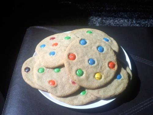 MM Cookies from LaurenFoodE