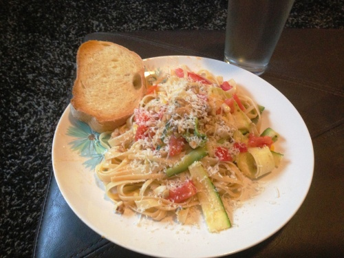 Dish shown here with parmesan instead of feta