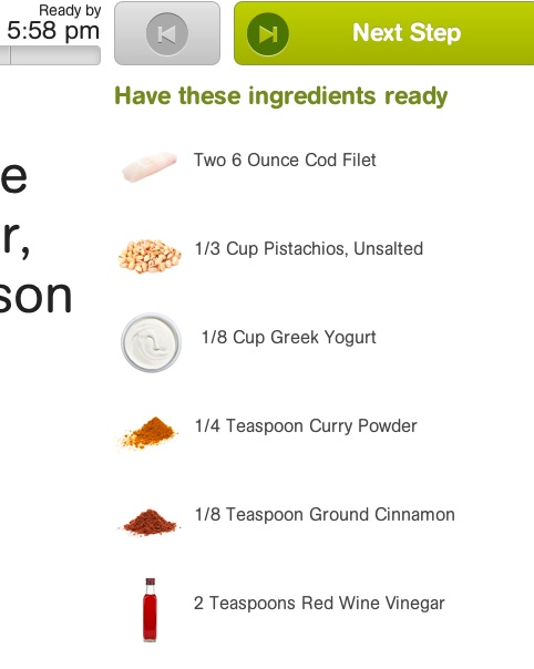 Ingredients ready